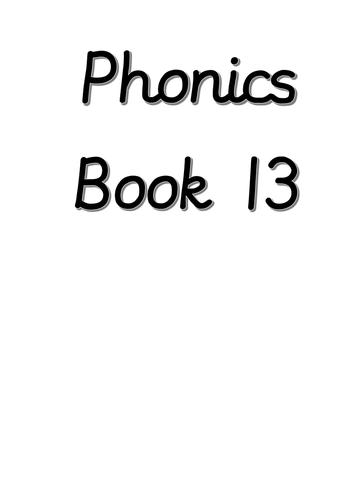 Year 1 phonics books