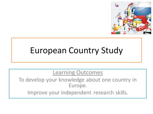 European Country Study
