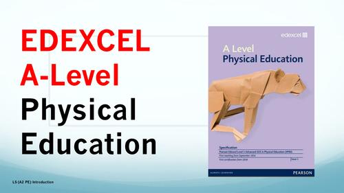 A-level PE (Edexcel Spec 2016) 1st Lesson Presentation and Student Booklet