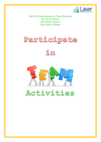 Entry 1 - Participating in team activitites