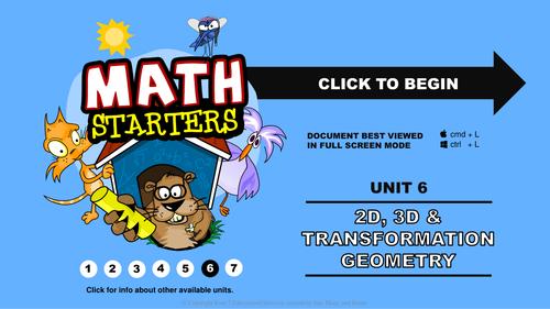 Math Starters - Geometry