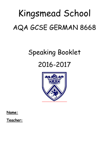 Elementary school German resources: texts