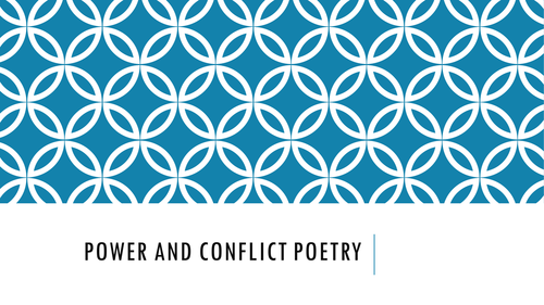 Comparing poems from the AQA Power and Conflict cluster- War Photographer and Remains