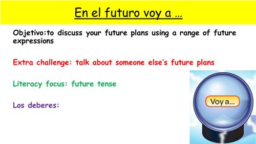 Y9 SPANISH VIVA MODULE 2: COMO VA A SER EL FUTURO