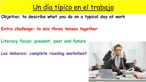 Y9 SPANISH VIVA MODULE 2: COMO ES UN DIA TIPICO