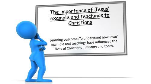 OCR GCSE Christianity - The importance of Jesus' message