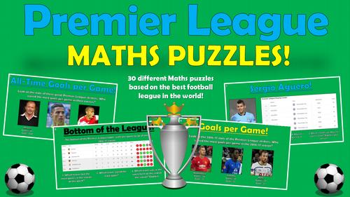 Premier League Maths Puzzles!