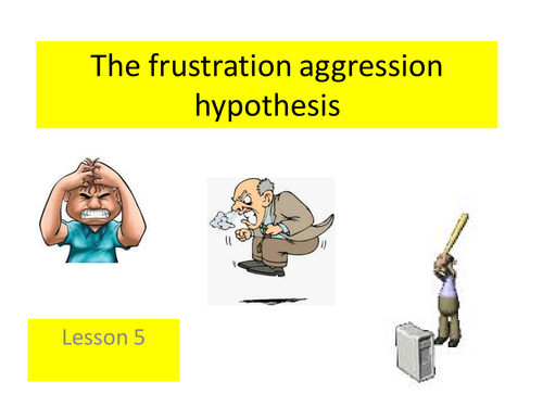 Paper 3 - The Frustration- Aggression hypothesis