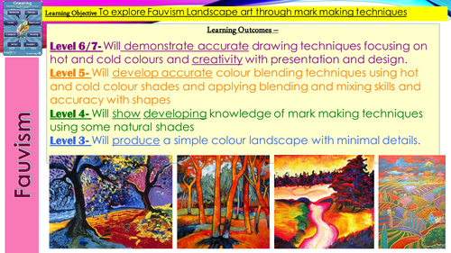 Fauvism lesson