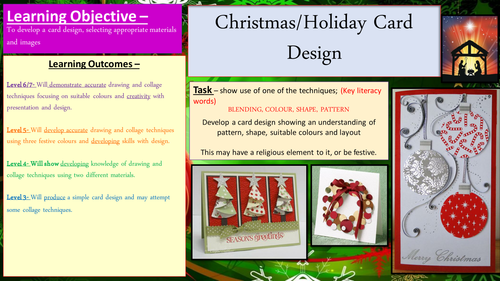 Christmas Card designing