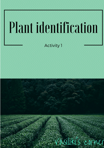Plant identification Activity 1