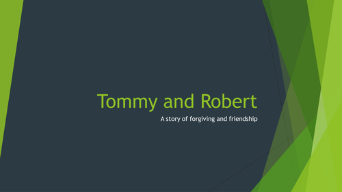 Tommy and Robert a story of forgiveness