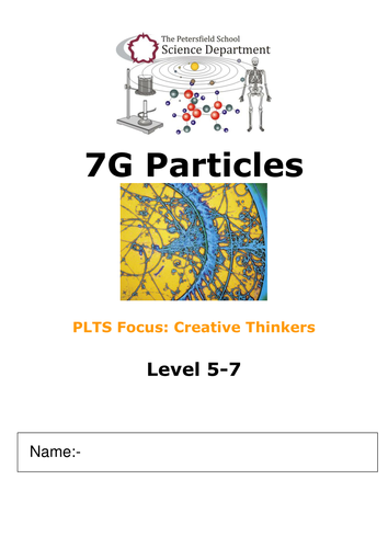 particle lesson on diffusion KS3