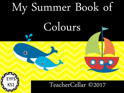 My Summer Book of Colours EYFS/KS1