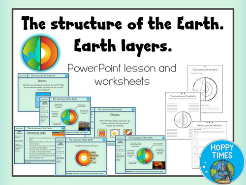 Earth Layers and Structure Lesson