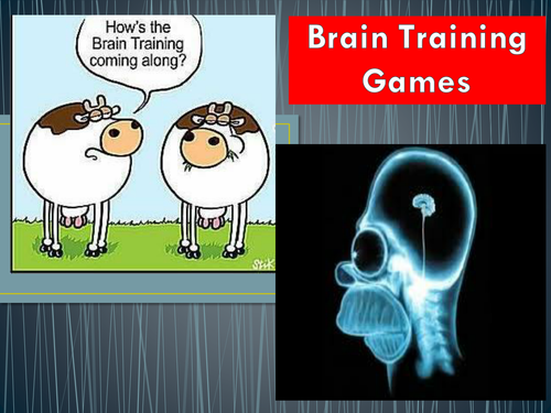 Brain Training to wake up your students and introduce lessons