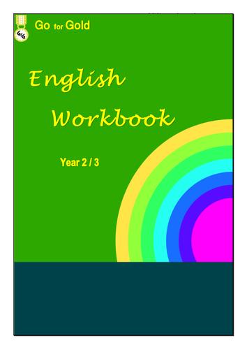 ENGLISH WORKBOOK YEAR 2 & 3 Book 1