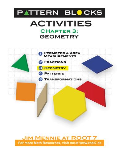 Pattern Blocks Chapter 3 - Geometry