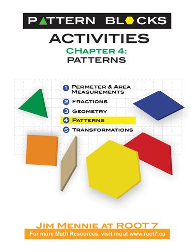Pattern Blocks Chapter 4 - Understanding Patterns