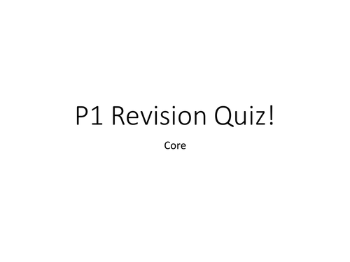 AQA PHYSICS CORE PAST PAPER EXAM QUESTIONS FOR REVISION