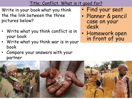 Conflicts: Introduction to Conflict
