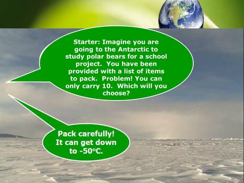 "KS3 Biology - Habitats  - ""A place to live"""