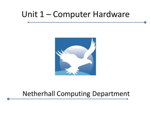 Cambridge Technicals 2016 L3 ICT - Computer Hardware