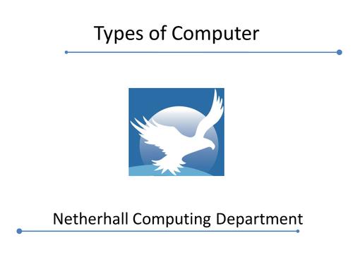 Cambridge Technicals 2016 L3 ICT - Types of Computer
