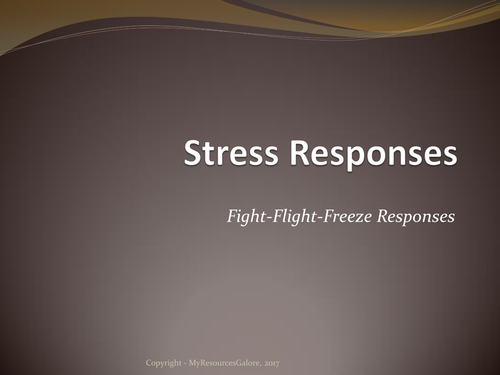 Health Psychology: Stress Responses