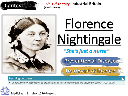 Edexcel 9-1 Medicine Through Time - Florence Nightingale
