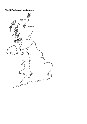 AQA GCSE Geography- Physical Landscapes of the UK by