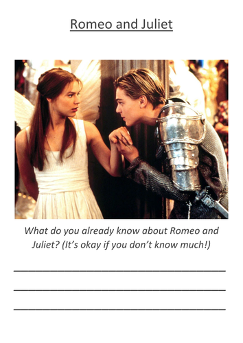 An Introduction to Romeo and Juliet