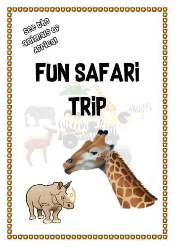 Fun Safari Trip Leaflet