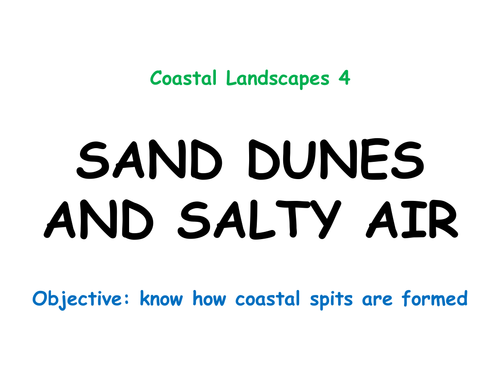 """COASTAL LANDSCAPES 4: """"Sand dunes and salty air"""""""