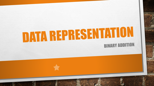 GCSE Computer Science 9-1 Data Representation - Number 4