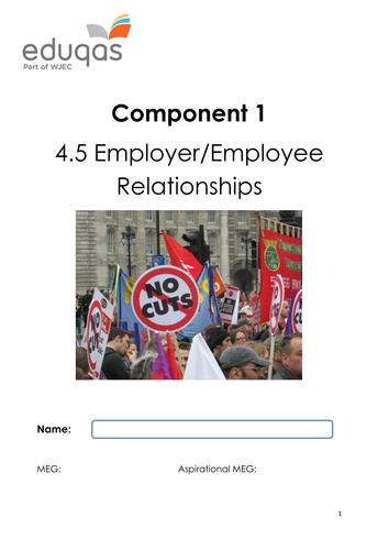 Employer-Employee Relations Workbook