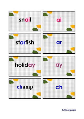 Phonics -two games in one