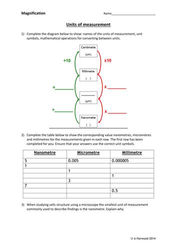 Magnification Workbook