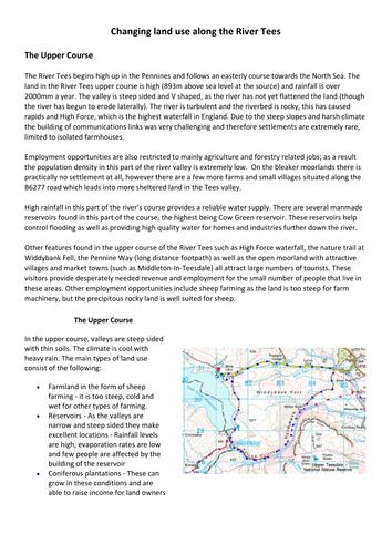 KS4 River Tees case study