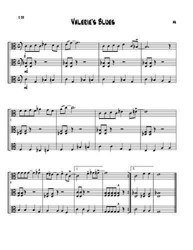 Valerie's Blues (Easy Flexible ensemble piece)
