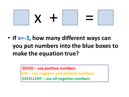 Forming Expressions and Equations