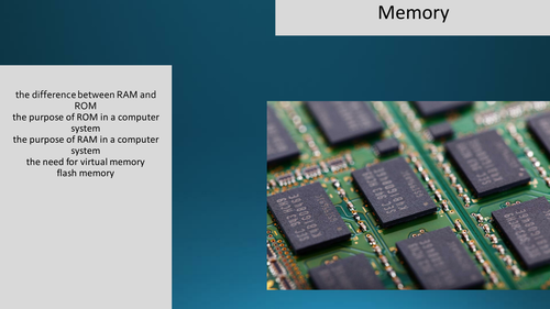 Memory Lesson for OCR Computer Science