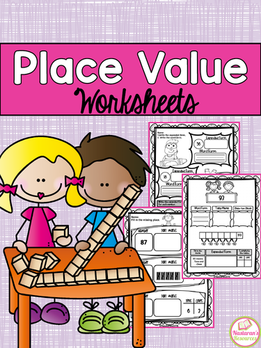 Place Value Worksheets-Tens and Ones Place Value