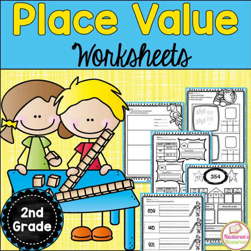 Place Value Worksheets-Hundreds and Tens and Ones Place Value