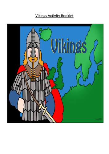 Vikings Activity Booklet
