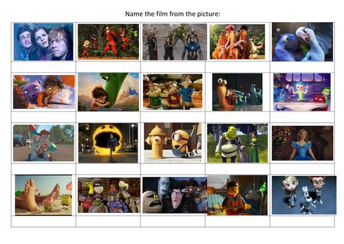 Kids Quiz - Name the Movie!