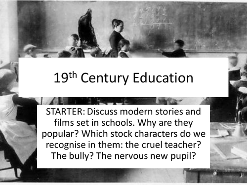 KS3: Introduction to 19th Century Literature