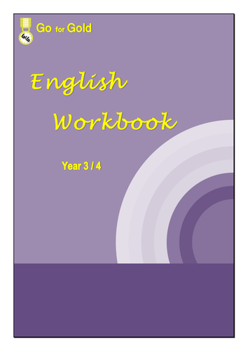 ENGLISH WORKBOOK YEARS 3 & 4 Book 1