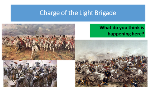 The Charge of the Light Brigade - Alfred Lord Tennyson