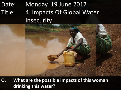 4. Impacts Of Global Water Insecurity